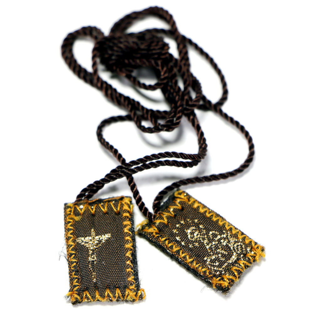 Mini Scapular Our Lady of Mt. Carmel