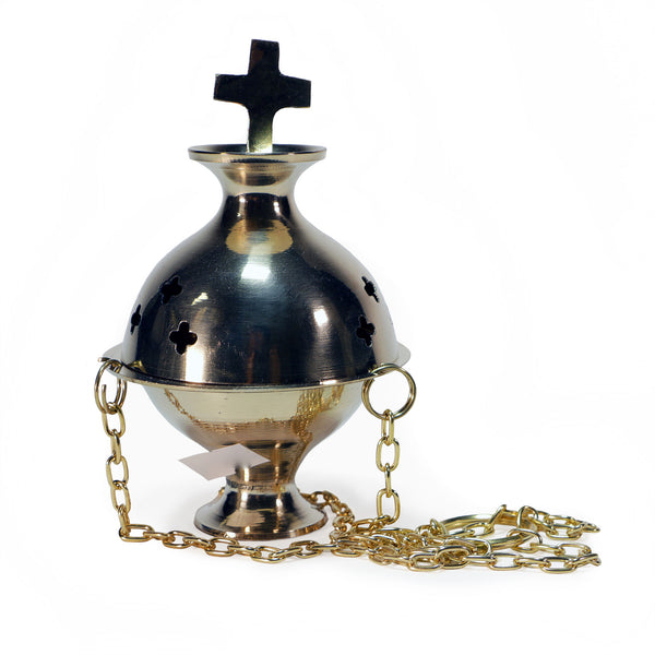 Incense Burner with Chain (Medium)