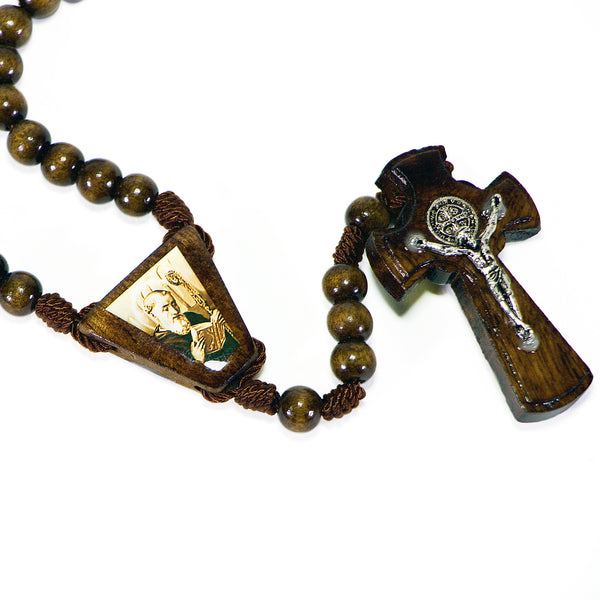 Rosary St. Benedict Wood