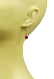 Ruby Vermeil Earrings