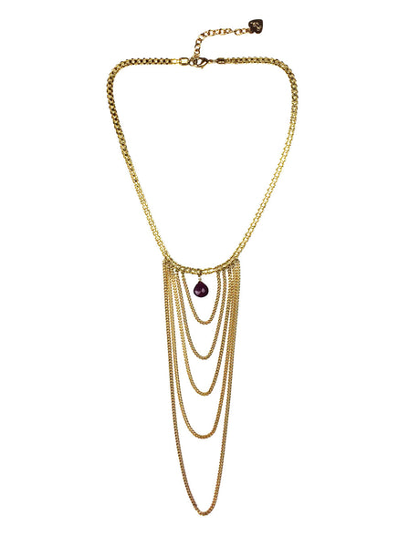 Ruby Swag Necklace