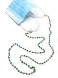 Amazonite Star Convertible Mask Necklace