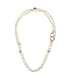 Pearl Star Convertible Mask Necklace