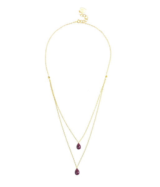 Ruby Layered Necklace