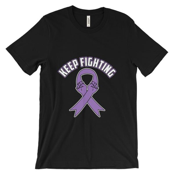 Short sleeve t-shirt  - Keep Fighting