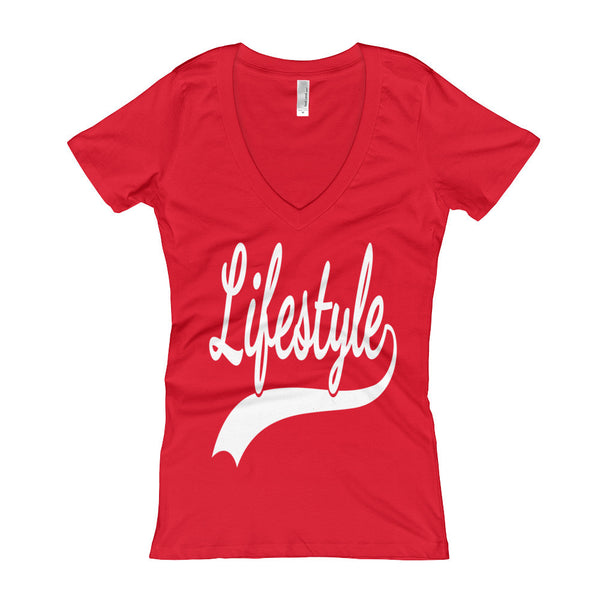 Lifestyle - Women's V-Neck T-shirt