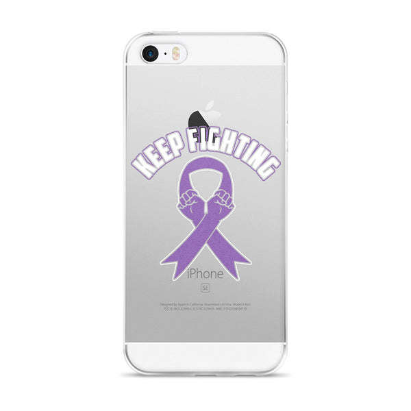 Keep Fighting - iPhone 5/5s/Se, 6/6s, 6/6s Plus Case