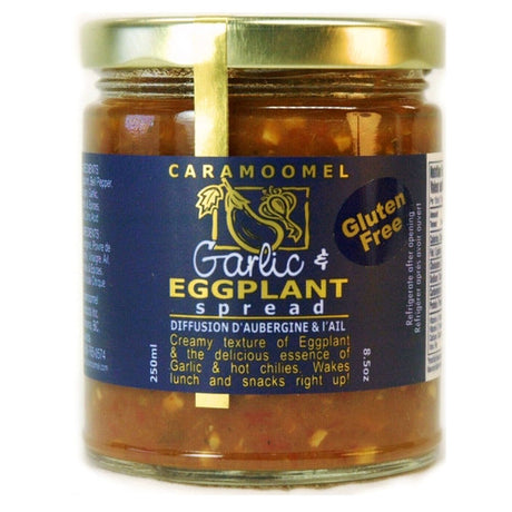 Garlic & Eggplant Spread - 250ml/8.5oz