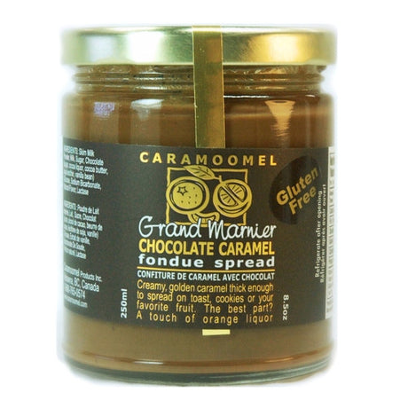 Grand Marnier Chocolate Caramel Fondue Spread - 250ml/8.5oz