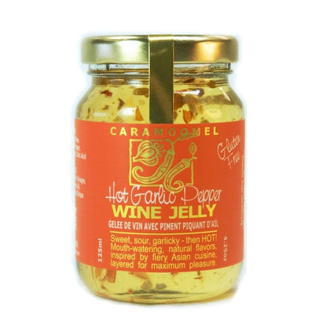 Hot Garlic Pepper Wine Jelly - 125ml/4.25oz