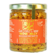 Hot Garlic Pepper Wine Jelly - 250ml/8.5oz