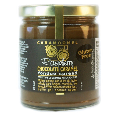Raspberry Chocolate Caramel Fondue Spread - 250ml/8.5oz