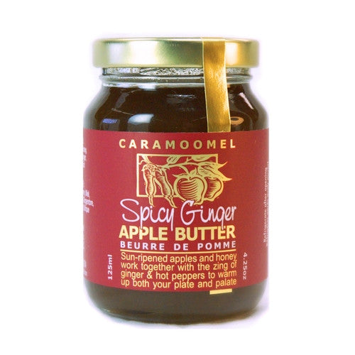 Spicy Ginger Apple Butter - 125ml/4.25oz