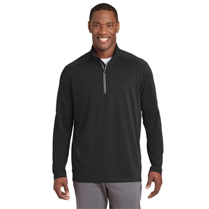 Men's Textured 1/4 Zip Pullover