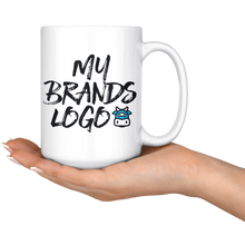 Load image into Gallery viewer, White 15oz Mug