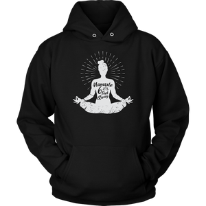 Easy Pose Namaste 6 Feet Away  - Unisex Hoodie