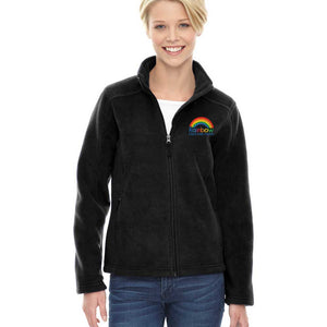 RCC Ladies Embroidered Full Zip Fleece