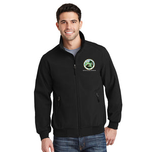 NEW Soft Shell Bomber Jacket - Office of The Governor Indiana State Seal