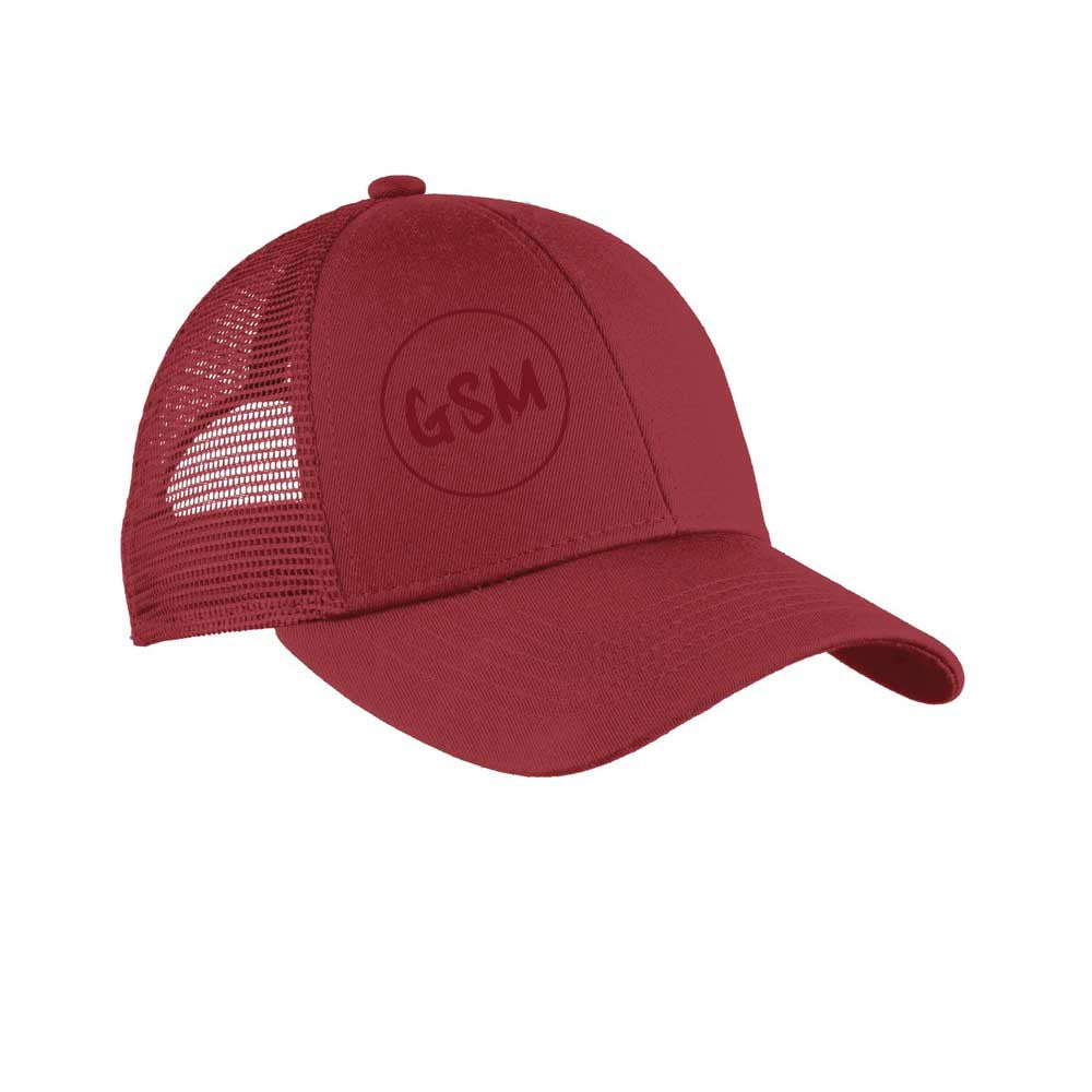 GSM Adjustable Mesh Back Cap - Chili Red