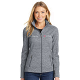 Port Authority Ladies Digi Stripe Fleece Jacket - IU