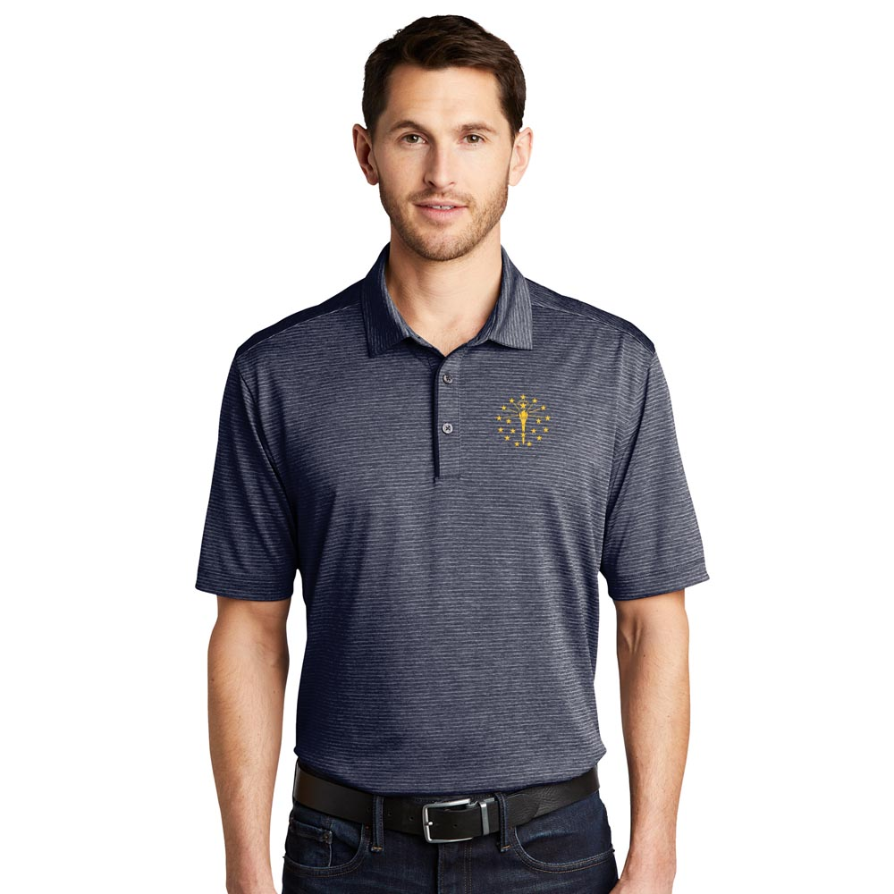 Shadow Striped Polo