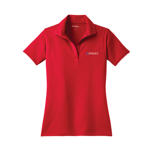 Zinga's - Sport-Tek Ladies Micropique Sport-Wick Polo