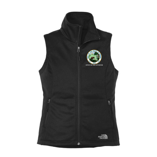 Ladies The North Face Ridgeline Soft Shell Vest - IN GOV
