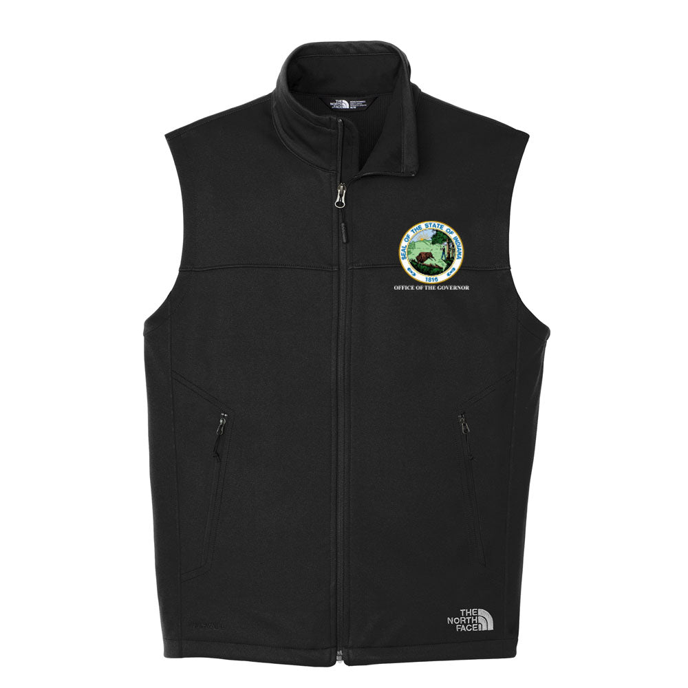 The North Face Ridgeline Soft Shell Vest - Office of The Governor Indiana State Seal