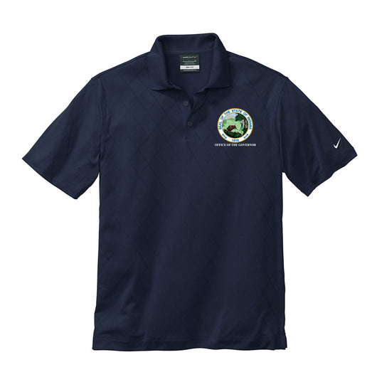 Nike Golf Dry-Fit Cross Over Polo - IN GOV