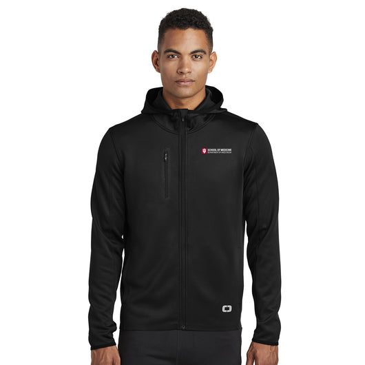 Mens Stealth Full-Zip Jacket