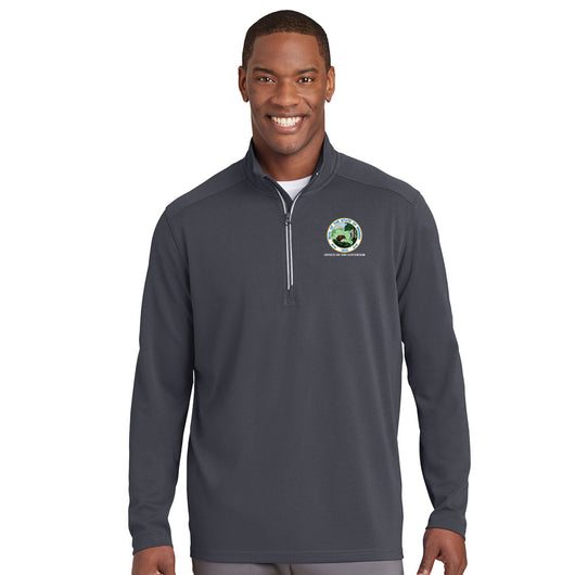 Men's Textured 1/4 Zip - IN GOV