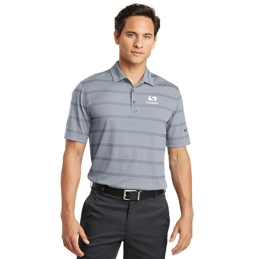 Schneider Nike Golf Dri-FIT Fade Stripe Polo