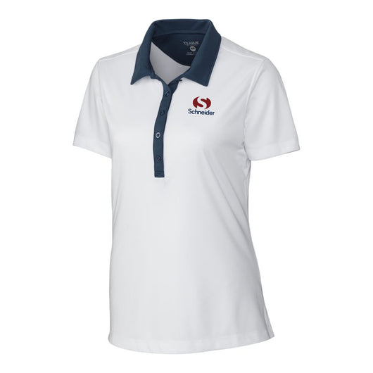 Schneider Clique Ladies' Parma Colorblock Lady Polo