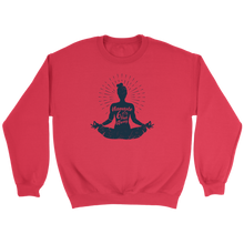 Load image into Gallery viewer, Easy Pose Namaste 6 Feet Away  - Crewneck Sweatshirt
