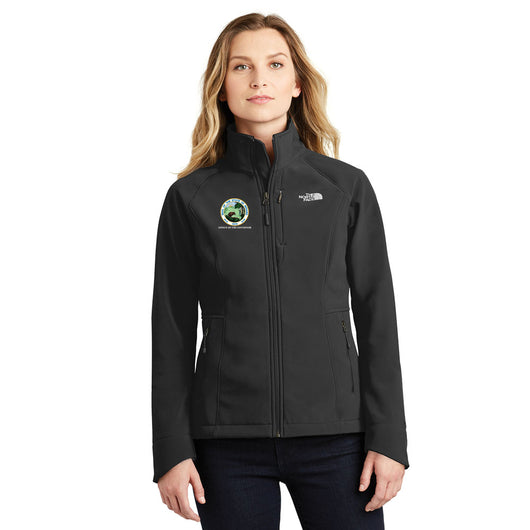 Ladies North Face Apex Shell Jacket - IN GOV