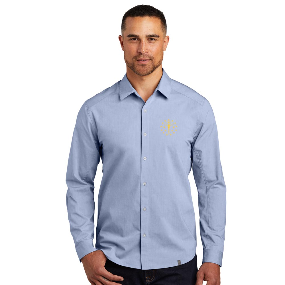 Commuter Woven Shirt - Indiana Torch