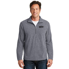 Load image into Gallery viewer, URISA Port Authority® Heather Microfleece 1/2-Zip Pullover