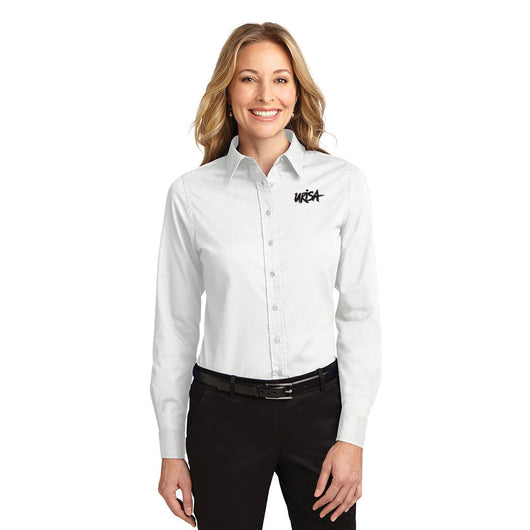 URISA Port Authority® Ladies Long Sleeve Easy Care Shirt