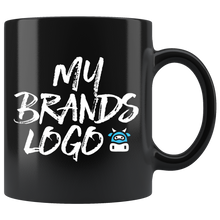 Load image into Gallery viewer, Black 11oz Mug