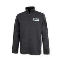 Mens - Charcoal Fleece Pull Over