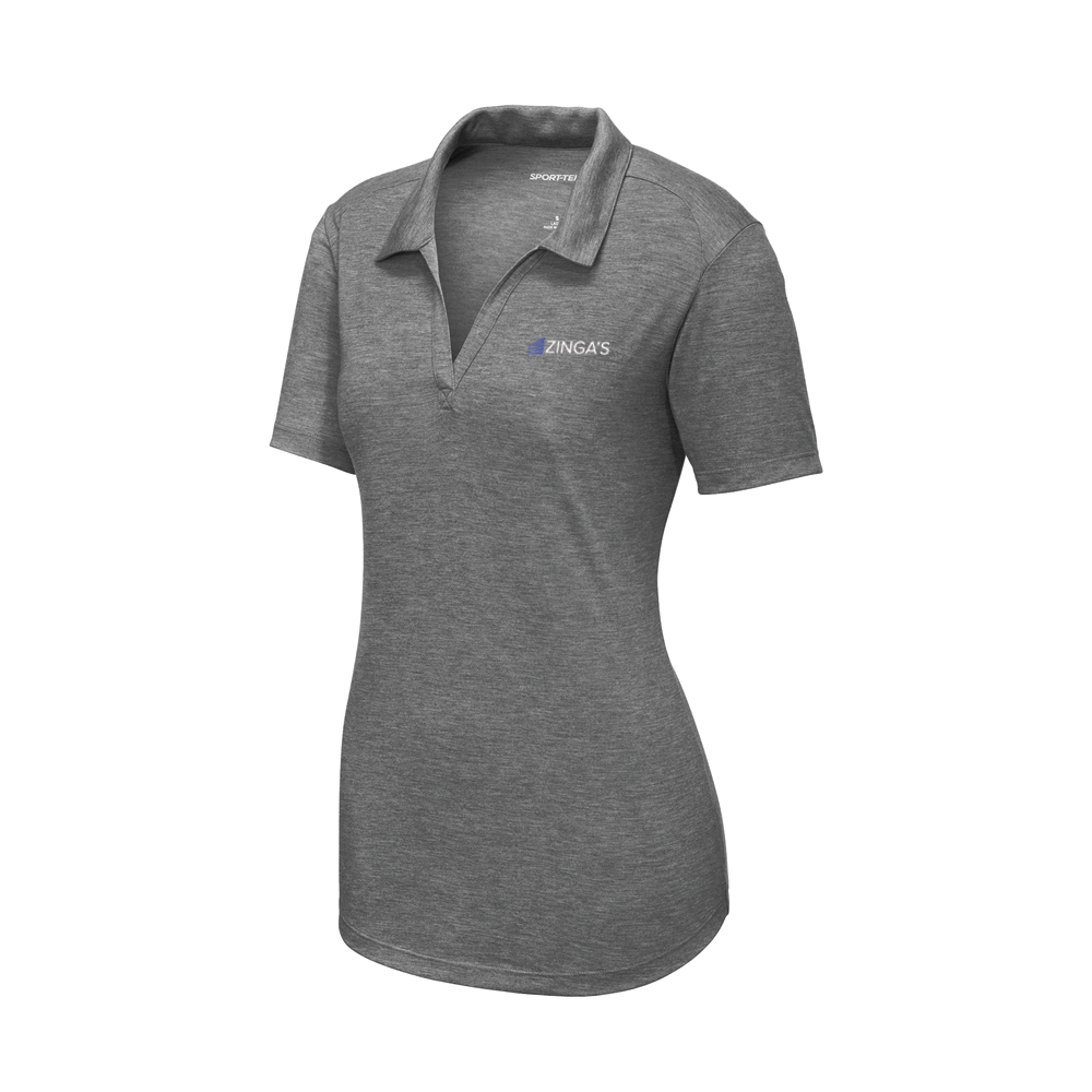 Sport-Tek Ladies PosiCharge Tri-Blend Wicking Polo