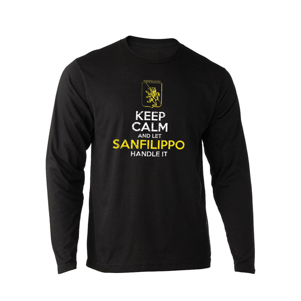 Keep Calm And Let SanFilippo Handle It - Unisex Rich Blend Long Sleeve Tee