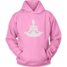 Load image into Gallery viewer, Easy Pose Namaste 6 Feet Away  - Unisex Hoodie