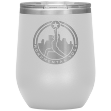 Load image into Gallery viewer, Monumental Yoga 12oz Wine Tumbler
