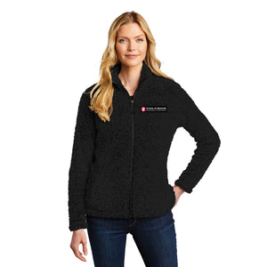 Ladies Cozy Fleece Jacket.