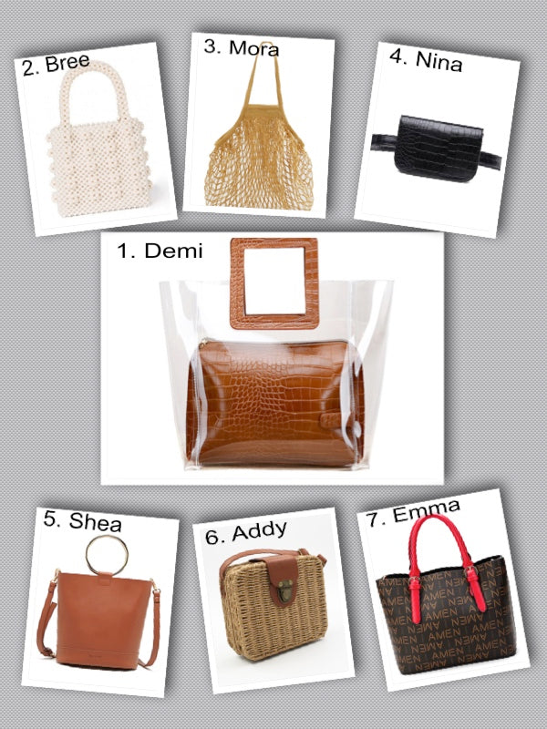 The LIST: Summer Bag Trends Fashion Girls Can't Stop Wearing