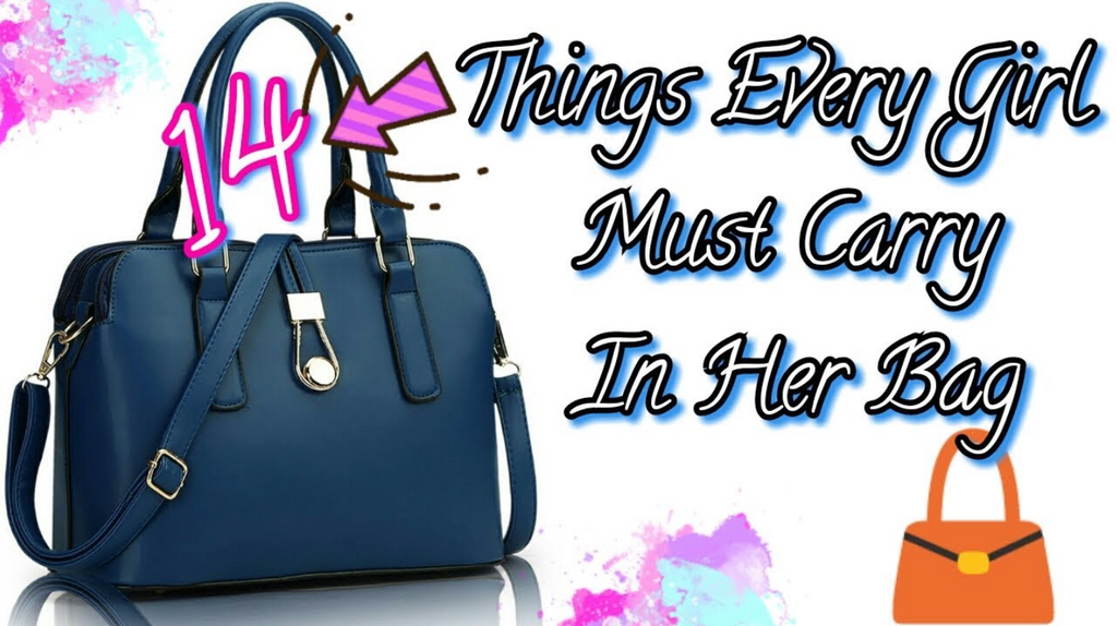 14 Things Every Woman Must Carry in her Purse