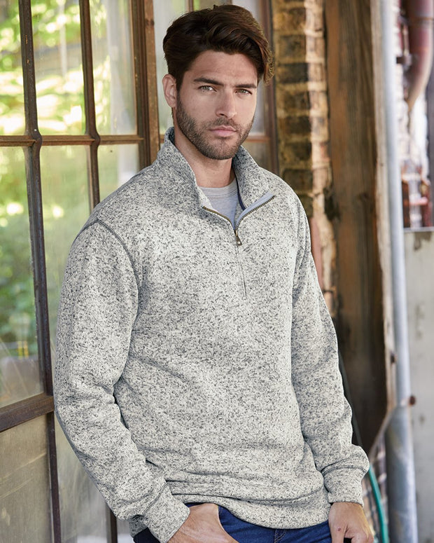 Weatherproof - Vintage Sweaterfleece Quarter-Zip Sweatshirt* - Addict Apparel