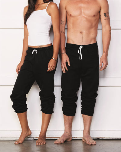 BELLA + CANVAS - Unisex Sponge Fleece Long Scrunch Pants* - Addict Apparel
