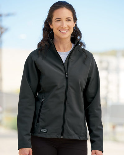 DRI DUCK - Women's Contour Soft Shell Jacket* - Addict Apparel